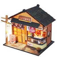 diy小屋手工制作小房子模型别墅拼装玩具建筑圣诞节生日礼物男女