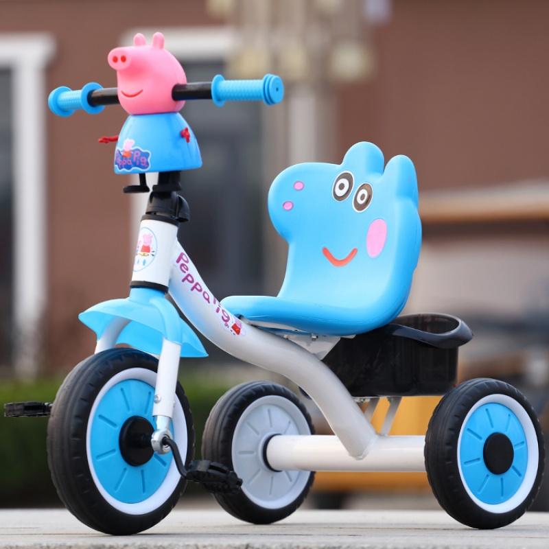 儿童三轮车大号童车小孩自行车婴儿脚踏车玩具宝宝单车2-3-4-6岁