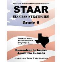 【预订】STAAR Success Strategies Grade 6 Study Guide: STAAR Tes