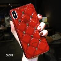 苹果x手机壳新款iphoneX硅胶7软壳iphone7plus透明8P女6s潮 iphone X/XS红色