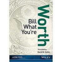 【预订】Bill What You'Re Worth, 3Rd Edition 9781941651193