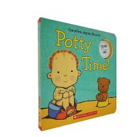 #英文原版 Potty Time! 发音书 纸板书[0-5岁]