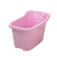 加厚儿童洗澡桶塑料宝宝沐浴洗澡桶坐式泡澡桶家用浴盆洗澡盆