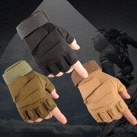 【运动户外 全场5折】征伐 战术手套 户外防割防滑运动骑行半指手套