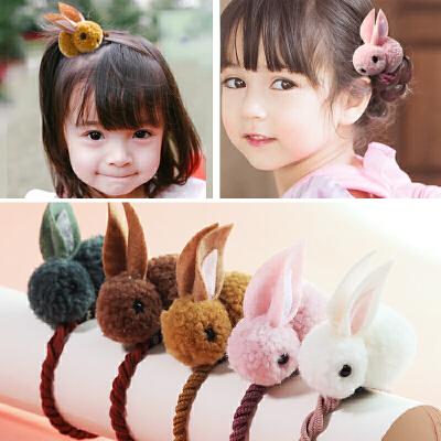 糖果公主儿童发饰发圈头绳小女孩扎头发橡皮筋公主头饰宝宝发绳发夹一字夹