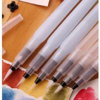 推荐 日本樱花自来水笔 储水毛笔 书法笔 彩铅固体水彩好伴侣