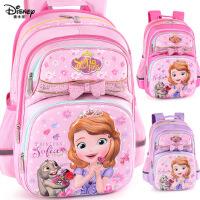 迪士尼女童书包小学生女1-3年级苏菲亚公主可爱6-12周岁儿童背包6670