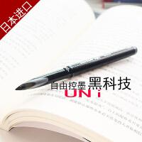 日本进口三菱uni-ball AIir水笔UBA-188顺滑草图笔绘图笔学生用自由控墨黑科技黑红蓝0.5/0.7mm中