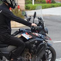 DL250摩托车改装摩托车车身防水个性图案贴纸车贴贴花 DL250版花一套(三色)