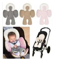 儿童汽车安全座椅垫宝宝推车垫婴儿全身支撑软垫冬夏通用一件