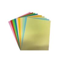 A4彩色纸 160克卡纸 手工纸 压花器*纸 20张/1包