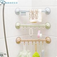 挂钩吸盘免钉挂钩浴室墙壁门后挂勾北欧风厨房强力无痕壁挂钩子