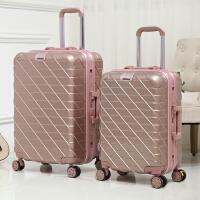 铝框拉杆箱万向轮男24寸学生旅行李箱女密码登机皮箱20寸
