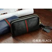新款韩版女士零钱包真皮双层拉链手拿包手抓时尚大容量手机包