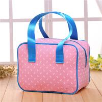 帆布手提包女小布包韩版潮流便当包饭盒包小方包防水女包拎包