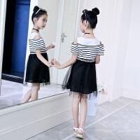 童装夏装女童连衣裙洋气新款儿童韩版夏季中大童