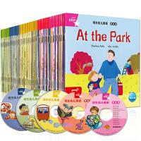 全新正版限时抢,满39包邮,活动中・・全套77册培生幼儿英语预备级基础级儿童英语分级阅读物自然拼读法3-4-5-6岁少