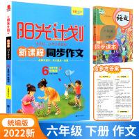 2019秋 阳光计划新课程同步作文 六年级上册 统编版人教版