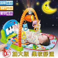 婴儿健身架摇铃玩具0-3-6-12个月新生儿益智男女孩宝宝幼儿0-1岁