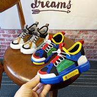 儿童运动鞋新款女童透气网面鞋子男童中大童网鞋悟道童鞋