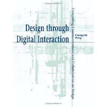 【预订】Design Through Digital Interaction 美国库房发货,通常付款后3-5周到货!