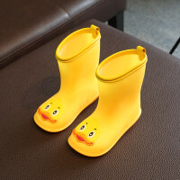 儿童雨鞋男童秋冬款幼儿轻便小童防滑雨靴女胶鞋1-3岁宝宝水鞋