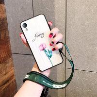 苹果6splus手机壳女款iphone max玻璃壳7plus全包8plus新款xs硅胶XR防摔套6
