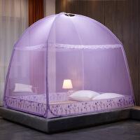 蒙古包蚊帐1.8m床1.5双人家用加密加厚三开门1.2米床单人