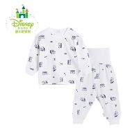 迪士尼Disney儿童套装春秋季新品男女童四季肩开扣长袖高腰家居服171T687