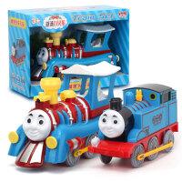 越诚托马斯套装轨道小火车宝宝汽车男生儿童玩具车男孩1--3-6周岁