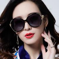 偏光太阳镜墨镜圆脸紫外线眼镜gm大脸女
