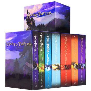 现货 哈利波特 英文原版 harry potter 1-7册全集小说全套 国外原著套装 哈利波特与魔法石密室 JK罗琳 被诅咒的孩子 进口书 正版 哈利波特英文版原版全集小说