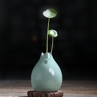 清新个性陶瓷植物家居装饰品水培小花瓶容器摆件客厅桌面插花干花