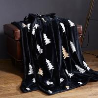北欧云貂绒毛毯双面珊瑚绒毯子懒人毯保暖绒毯双人午睡网红毯盖毯 200x230 双层 5.6斤