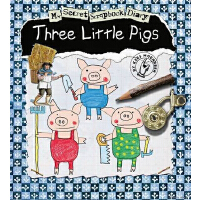 My Secet Scrapbook Diary:Three Little Pigs 三只小猪 (2012年学龄前儿童实用金奖;英国亲子网站Bizziebaby 2011-2012金奖;英国启蒙玩具书推荐奖) ISBN 9781846434488