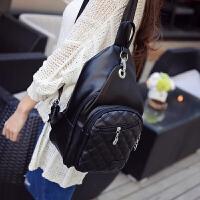 新款胸包女韩版休闲双肩包女两用潮胸前包斜挎包时尚旅行背包