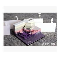 超日本清水寺的原创立体渐变便利贴便签纸可定制日本渐变便签