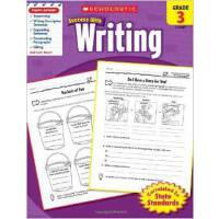 英文原版 学乐必赢 SCHOLASTIC SUCCESS WITH WRITING, GRADE 3 小学生英语学习教材