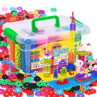 雪花片1000积木塑料益智儿童幼儿园大号男女孩拼插玩具3-6岁批发