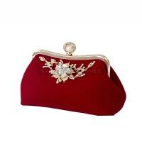 女包手拿包款新娘包包结婚包红时尚日韩晚宴包链条潮手提SN5498