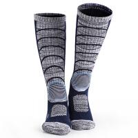滑雪袜户外运动袜加厚登山徒步保暖高帮滑雪袜透气男女
