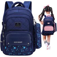 儿童书包小学生女生1-3-5-4-6一年级双肩包6-12周岁男孩背包