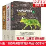 我的野生动物朋友123全套三本欧美中小学生四五六年级启蒙读本西顿 野生动物大搜索少儿科普图书 亲子童书非注音版