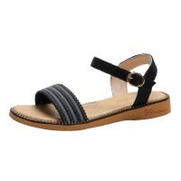 WARORWAR 法国YN38-228夏季韩版平底舒适女凉鞋