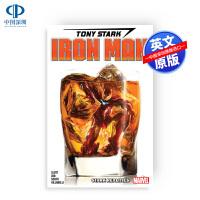 现货 托尼史塔克钢铁侠合订本2 #6-11合集英文原版漫画Tony Stark: Iron Man Vol. 2: St