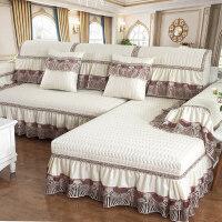 20180430214315717沙发垫四季通用欧式简约现代防滑布艺沙发套全包�f能套罩巾全盖
