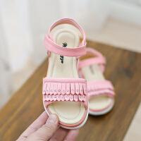 女童凉鞋夏天真皮软底小女孩宝宝公主凉