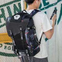 男士背包电脑休闲大容量旅行双肩包初高中学生书包男时尚潮流