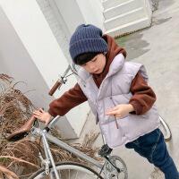男童马甲羽绒棉秋冬韩版儿童冬装2018新款外套加厚马夹坎肩保暖潮