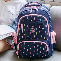 儿童书包小学生女生3-5-4-6年级女孩可爱轻便双肩包6-12周岁